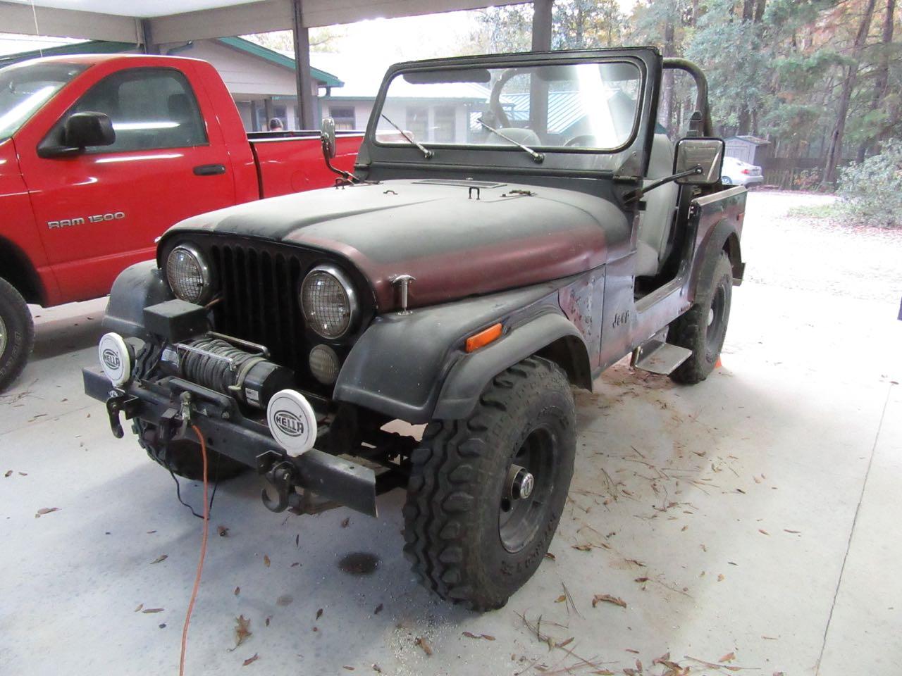 Florida Coal Cracker Chronicles: Josh's Antique 1980 Jeep ...