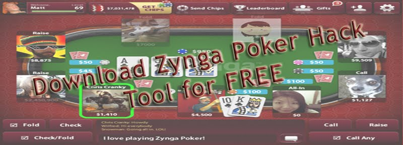 How to Hack Zynga Poker