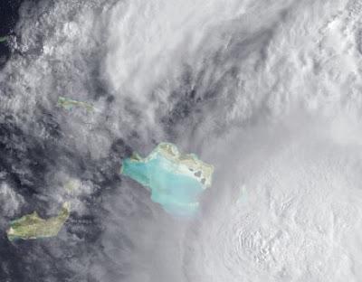 Hochauflösendes Satellitenfoto Hurrikan IRENE (HD, HR, High Definition, High Resolution), Hurrikan Satellitenbilder, Hurrikanfotos, Bahamas, Dominikanische Republik, Atlantik, August, aktuell, Irene,