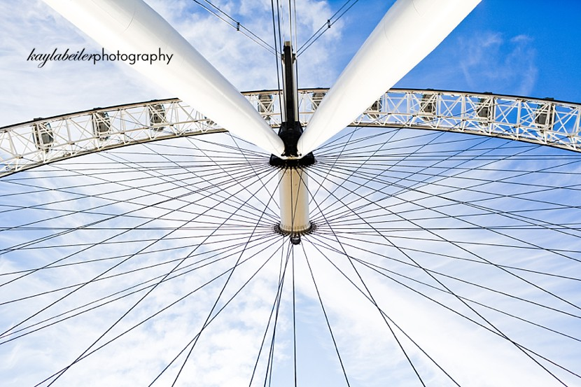 the london eye photo