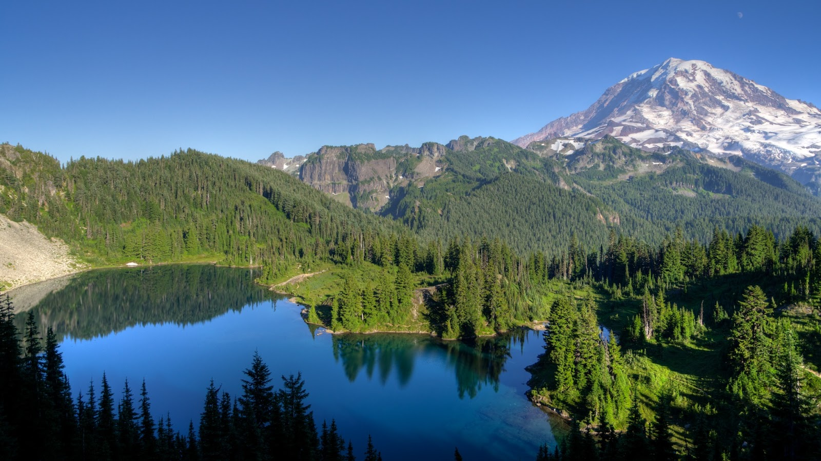 How To Get To Mount Rainier Without A Car