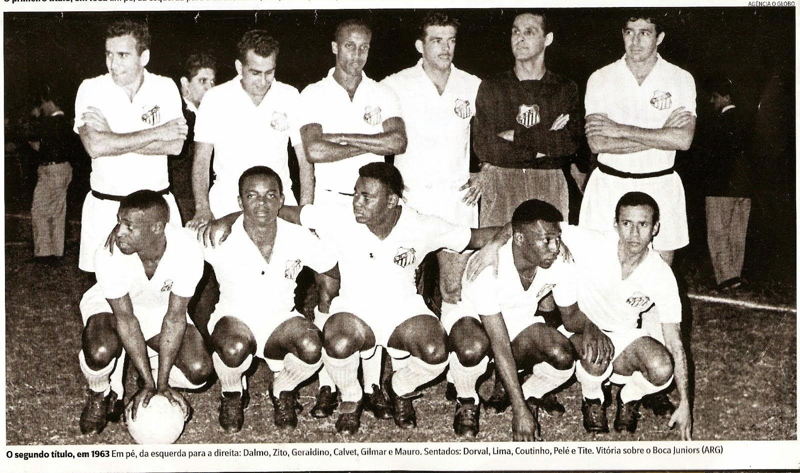 Santos - Libertadores 1963