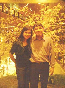 With my beloved hubby