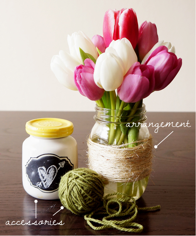#diytuliparrangement, #diytulips, #bridalshowerflowers