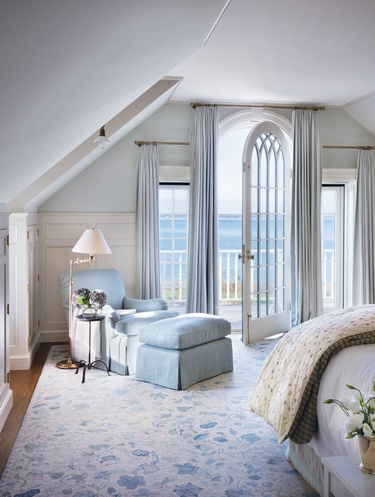 Madison muse victoria hagen interiors Blue beach bedroom ideas