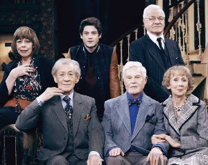 The cast of Vicious