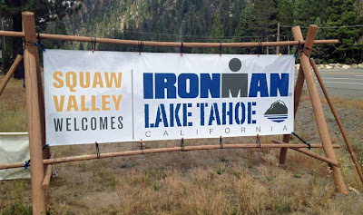 Ironman Lake Tahoe Triathlon is this Sunday