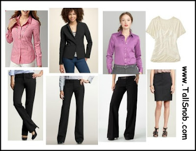 womens tall business clothes