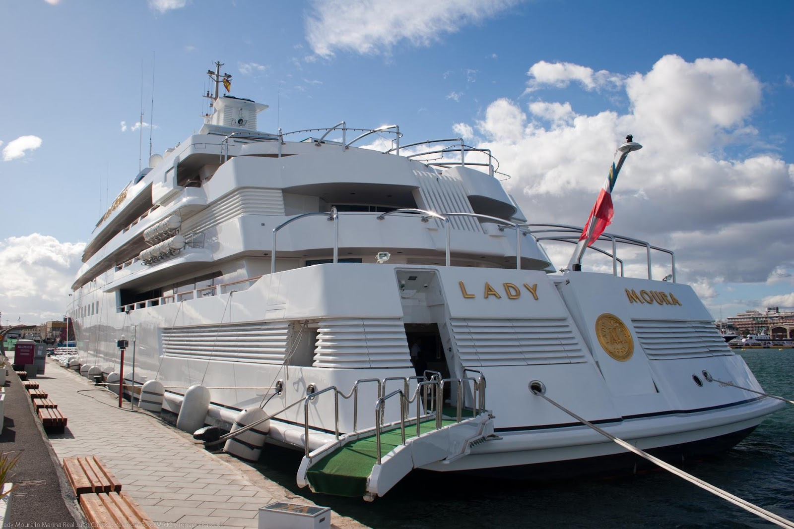 Lady Moura Superyacht Photos Marine Vessel Traffic