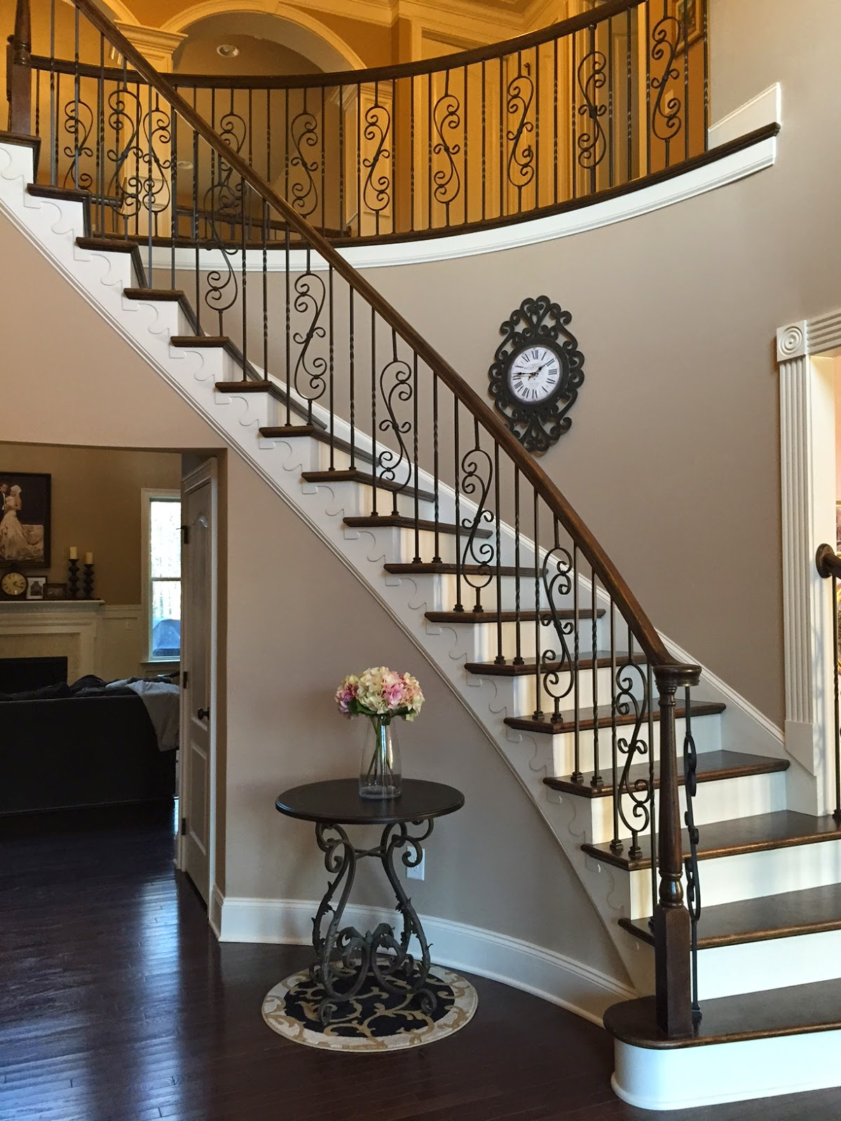 To Our Surprise, The Balusters Came In In Less Than 3 Days (stair Nation  Was Awesome!) And It Only Took Hubby A Couple Hours To Install Them!