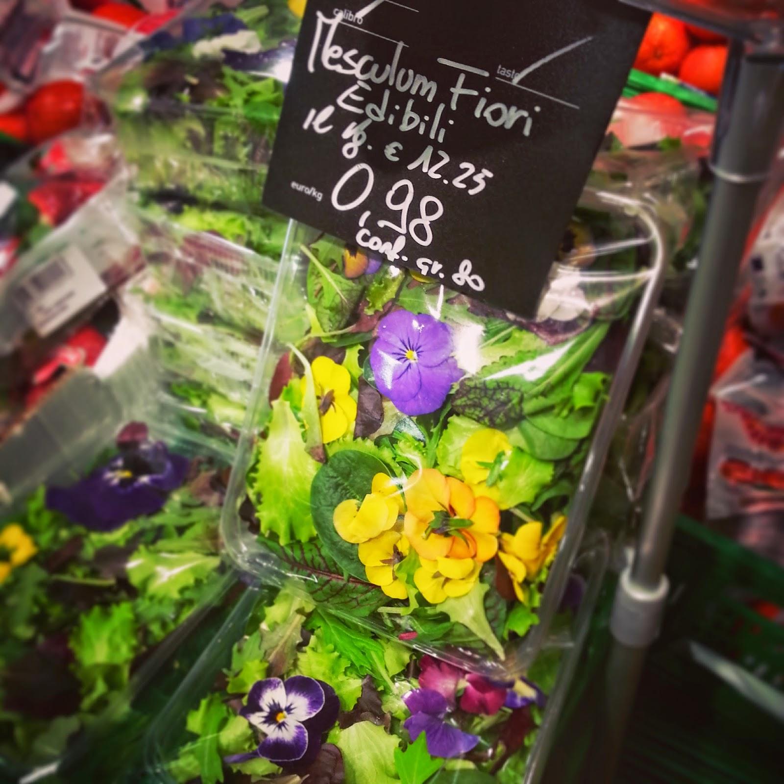 Coniglio giallo a proposito di fiori edibili for Fiori edibili