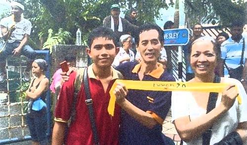Apabila Marina Mahathir turut sertai demo haram...!!