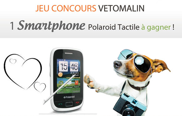 Jeu VétoMalin: Un smartphone à gagner