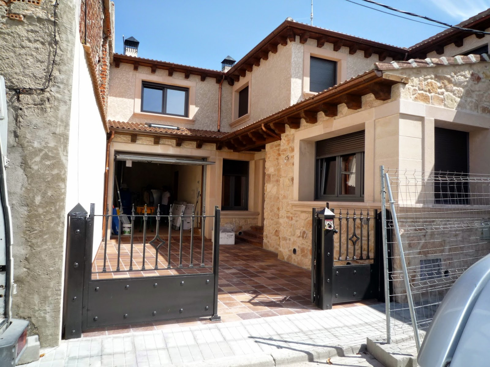 El Talon Sierte, construcción en Segovia: noviembre 2011