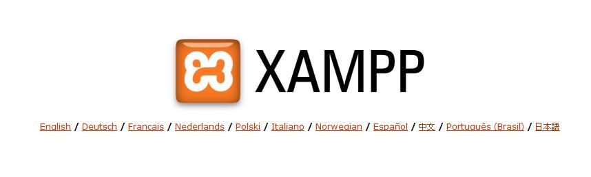 idioma xampp