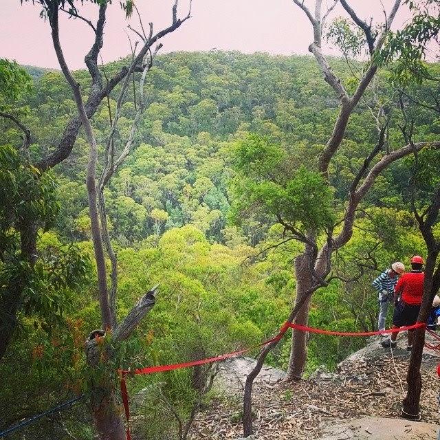 galston gorge, australian bush, australian scenery, abseiling