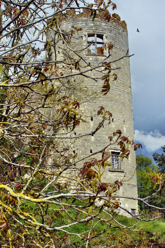 Zamki nad Loarą - Zamek malarzy - baszta