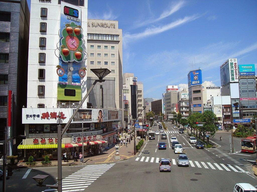 A cidade de Omachi, em Nagano, onde ocorreu o terremoto previsto pelo vidente Nóbrega da Luz Reprodução/Wikimedia Common