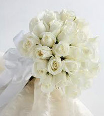 Wedding Rose flower bouquet