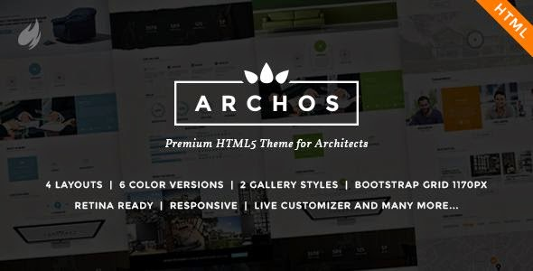 Archos - HTML5 Template for Architects