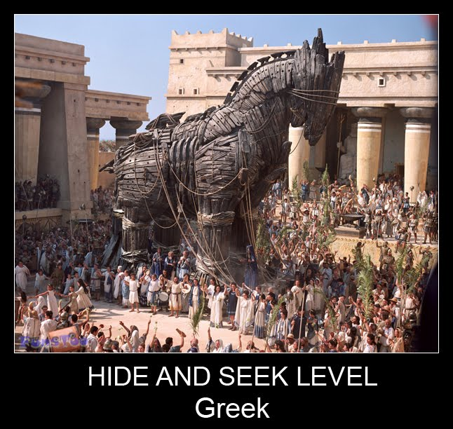 Hide And Seek Level Greek