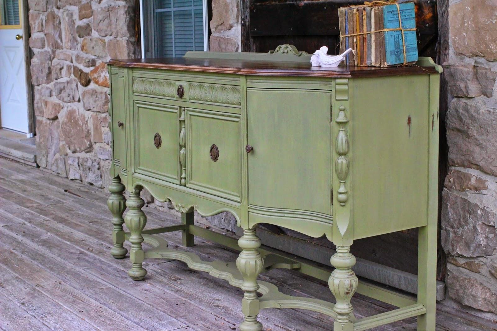 laurel 39 s attic antique curved front buffet sideboard sold. Black Bedroom Furniture Sets. Home Design Ideas