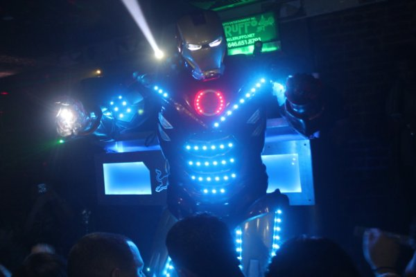 Neon Party + Robot Show @ 809 Lounge