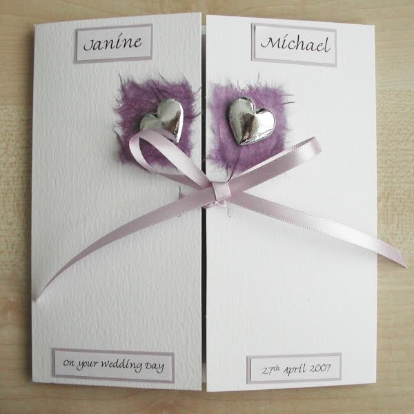 Personalised Wedding Gift Cards : Personalised wedding cards