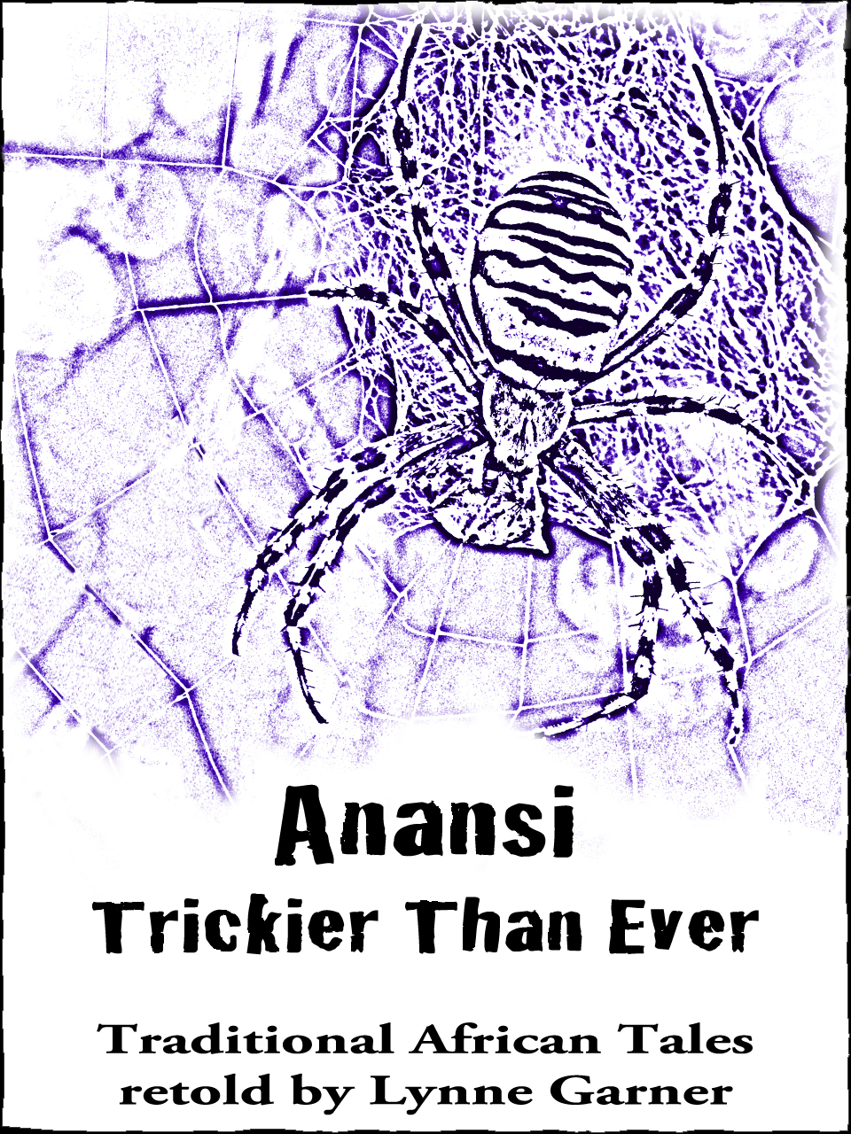 Authors electric more fun with anansi lynne garner for Anansi the spider coloring pages