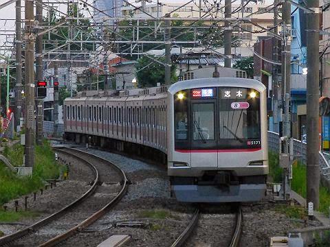 東急東横線 副都心線・東武東上線直通 各停 志木行き 5050系