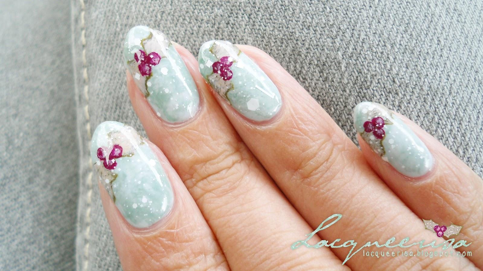 Almost White lacqueerisa.blogspot.com