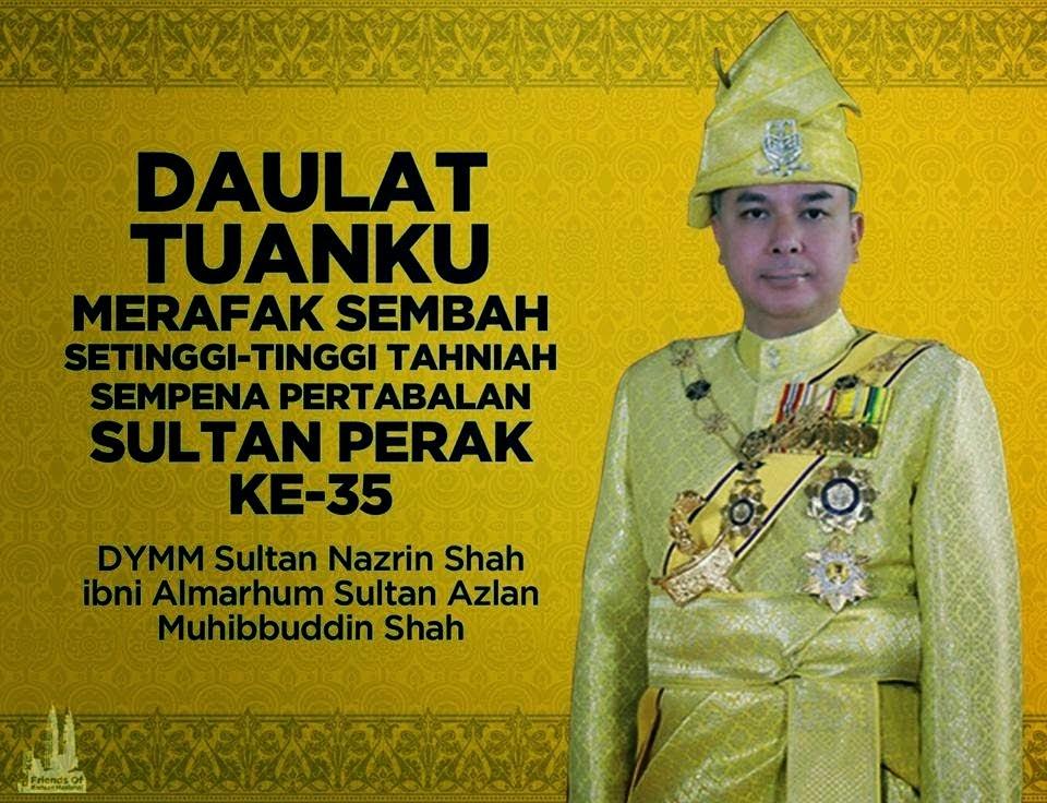 Istiadat Pertabalan Sultan Perak 2015 Ke 35
