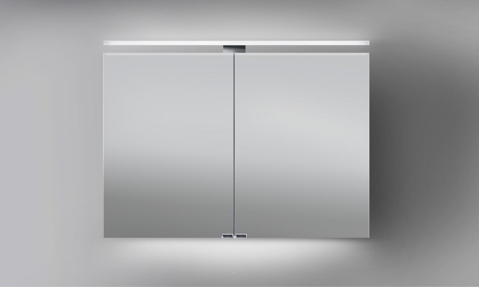 spiegelschrank mit beleuchtung 100 cm breit hause dekoration ideen. Black Bedroom Furniture Sets. Home Design Ideas