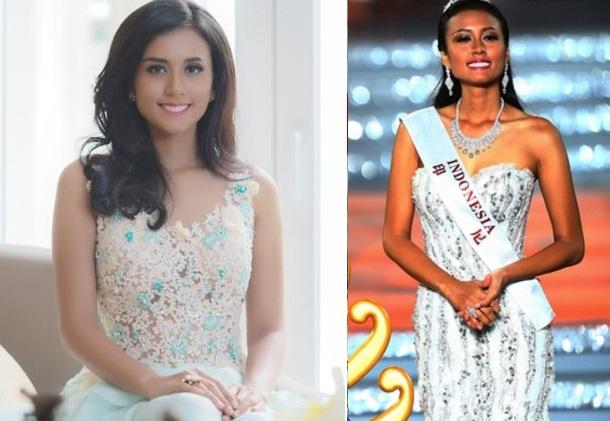 Maria Harfanti Juara 3 di Ajang Miss World 2015