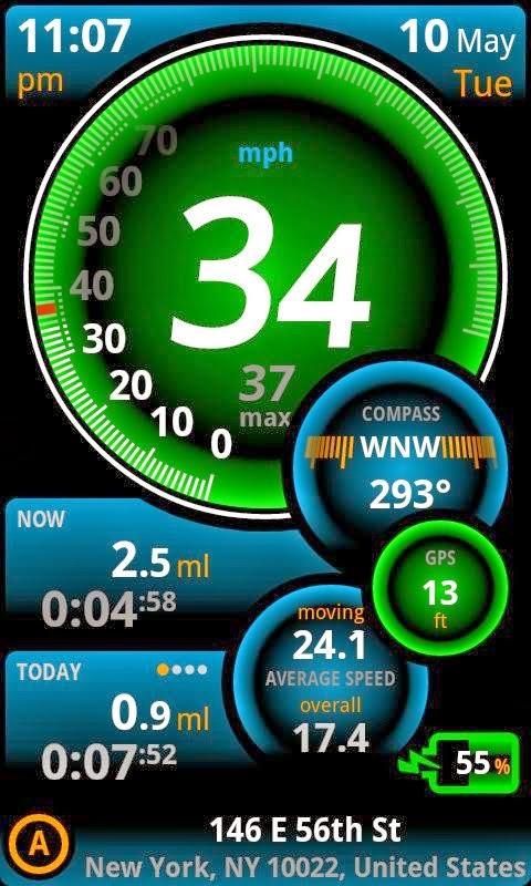Merubah Android Menjadi Speedometer