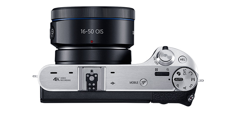 Camera Compare NX300, NX500, NX1- NX500 Top View - image