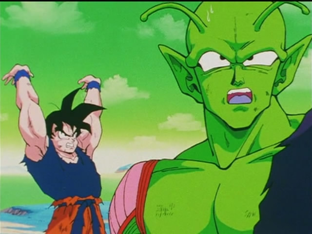 Dragon ball z ep 94 the incredible destructive force of for Freezer piccolo