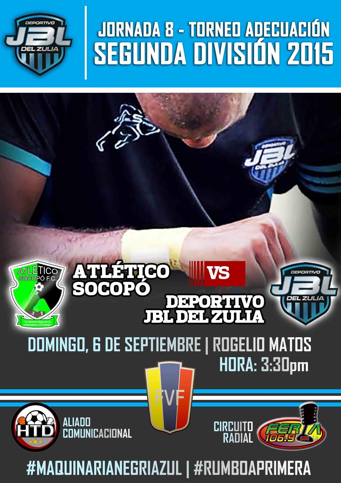 J8 Victoria de Atlético Socopó (4-2)