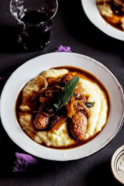 bangers and mash recipe