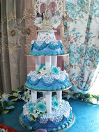 3 Tiers Buttercream Wedding Cake
