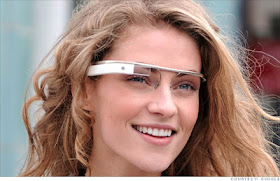 Google wearable computing glasses