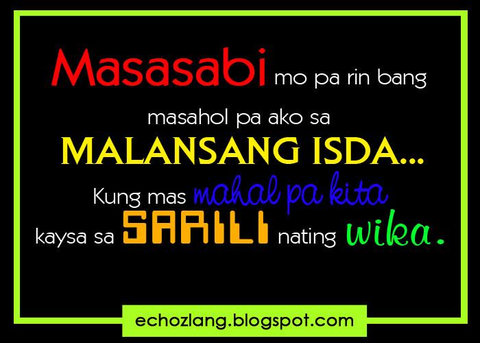october 2012 echoz lang tagalog quotes collection