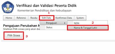 Langkah Download NISN Siswa Yang Sudah Lulus