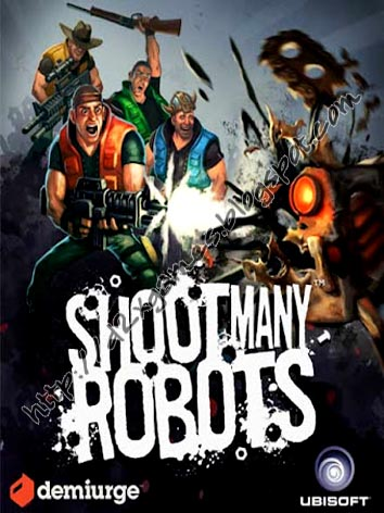 Free Download Games - Shoot Many Robots