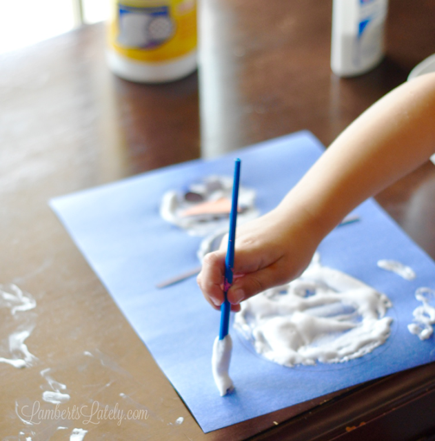 Making Finger Paint With Cornstarch