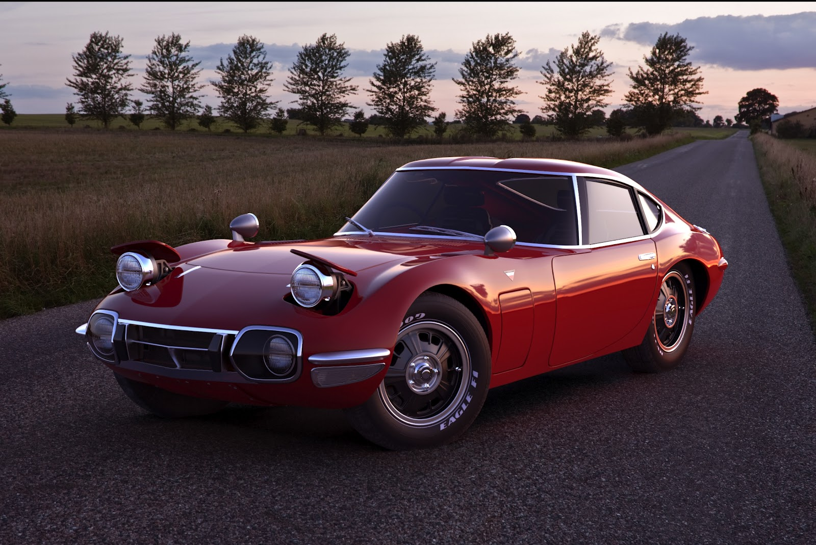Inovatif Cars 1967 Toyota 2000gt