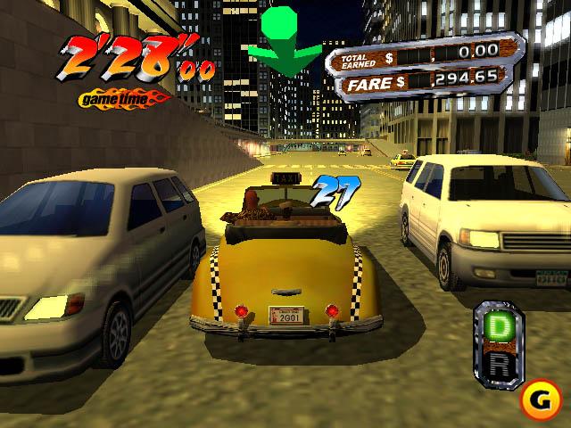 Crazy Taxi Portable