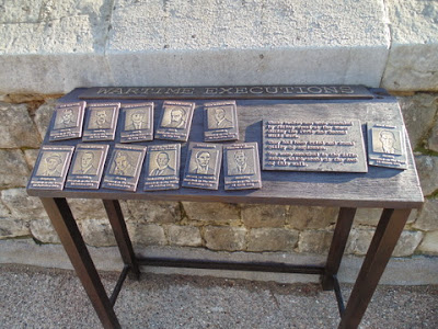 Wartime Executions display (Copyright G.K. Jakobs).
