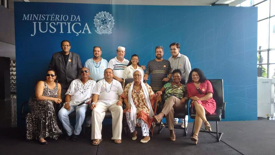 GT NACIONAL JUNTO A MINISTÉRIO DA JUSTIÇA CASA DE XANGO ABRE-SE A PRIMEIRA VEZ EM 500 ANOS ...