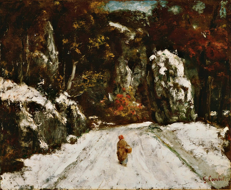 Gustave Courbet - Winter in the Jura